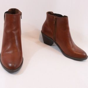 Sonoma Shoes - Sonoma McKinzie Saddle Brown Booties